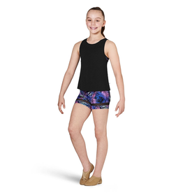 BLOCH & MIRELLA KA067T KAIA TWEEN MESH BACK PANEL TANK TOP