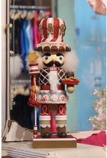 KURT S. ADLER HA0190 GERMAN GINGERBREAD CHEF NUTCRACKER