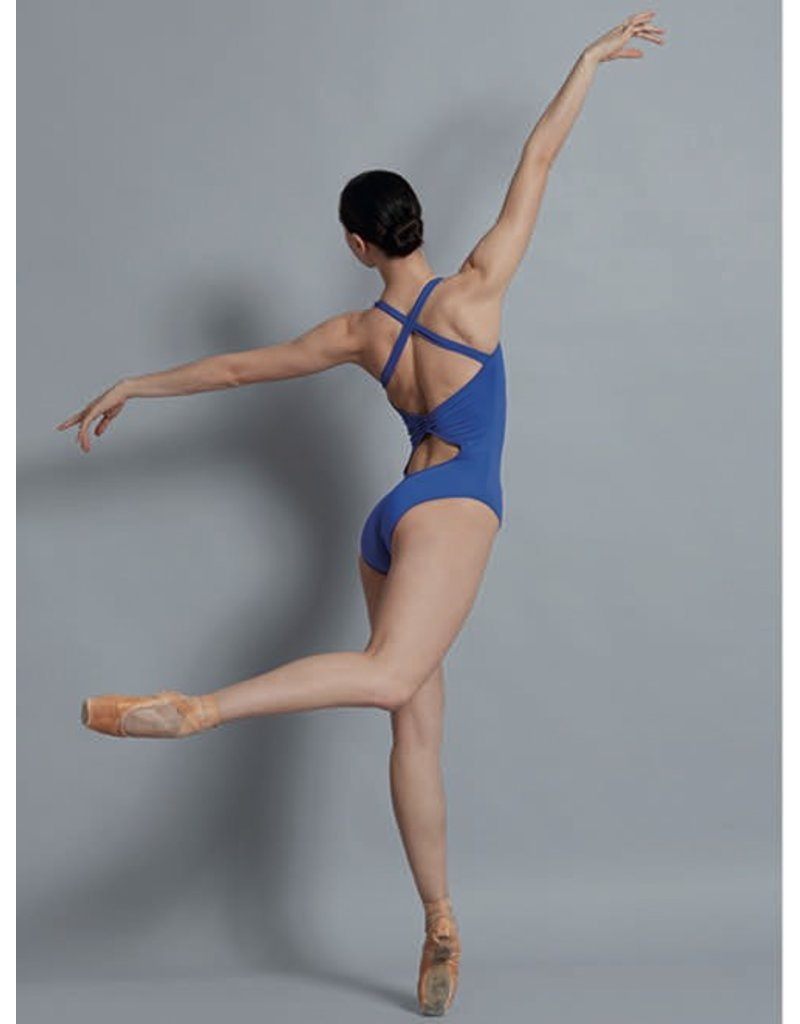 BALLET ROSA MADISON CROSS BACK TANK OPEN BACK LEOTARD