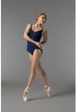 SO DANCA RDE1714 SARA MEARNS SCALLOPED EDGE LACE CAMISOLE WITH INSET LACE BUST