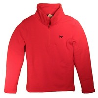 JACK THOMAS 1/4 ZIP SWEATER