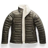 THE NORTH FACE REVERSIBLE MOSS BUD SWIRL JACKET