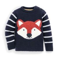 JOJO MAMAN BEBE FOX SWEATER
