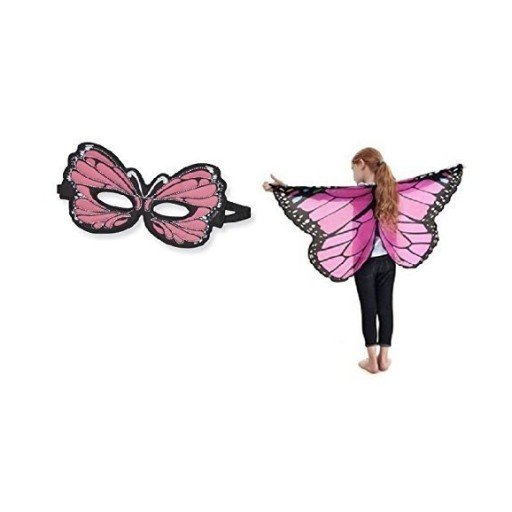DOUGLAS CO. DREAMY DRESS UP MONARCH BUTTERFLY MASK & WING SET