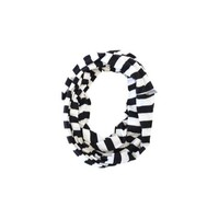 ITZY RITZY NURSING HAPPENS-BLACK AND WHITE NURSING SCARF