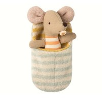 MAILEG MAILEG BABY MOUSE IN SLEEPING BAG