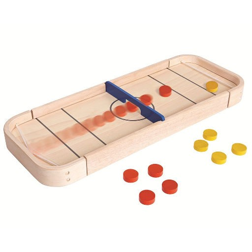 PLAN TOYS, INC. 2-IN-1 SHUFFLEBOARD GAME