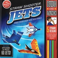 KLUTZ STRAW SHOOTER JETS