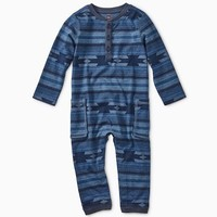 TEA SADDLE GEO CARGO ROMPER
