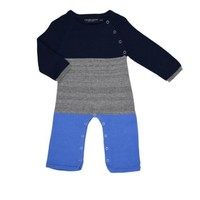 TOOBYDOO LOUIS SWEATER KNIT ROMPER