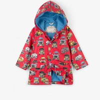 HATLEY MONSTER TRUCKS CLASSIC RAINCOAT