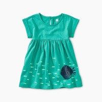 TEA BIG FISH EMPIRE BABY DRESS