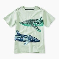 TEA WHALE SHARK GRAPHIC TEE