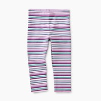 TEA MULTISTRIPE CAPRI LEGGINGS