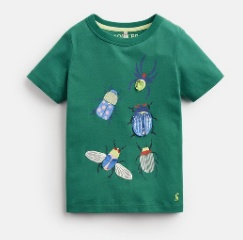 JOULES CHOMPER BEETLE APPLIQUE T-SHIRT