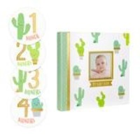 PEARHEAD CACTUS MEMORY BOOK & STICKER SET