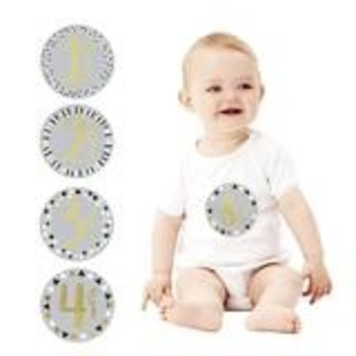 PEARHEAD FIRST YEAR FOIL BELLY STICKERS - GRAY
