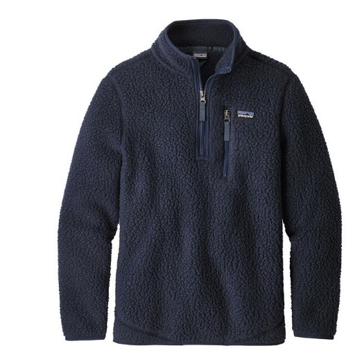 PATAGONIA PATAGONIA BOYS RETRO PILE 1/4 ZIP FLEECE