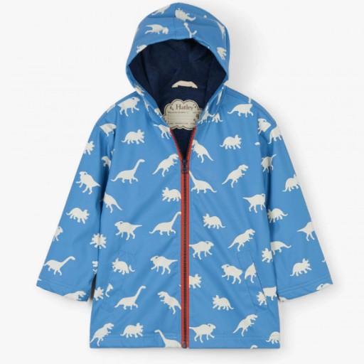 HATLEY COLOR CHANGING DINOS SPLASH JACKET
