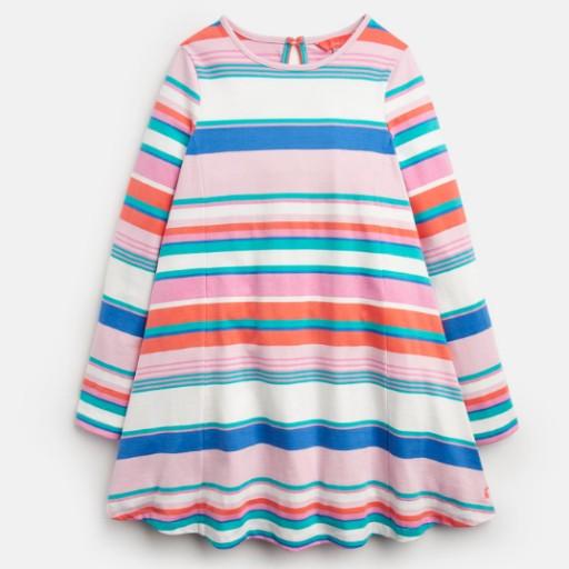 LORALIE JERSEY SWING DRESS