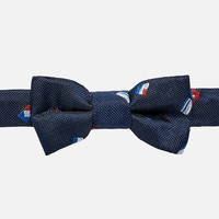 MAYORAL USA MAYORAL FLAG PRINT BABY BOW-TIE
