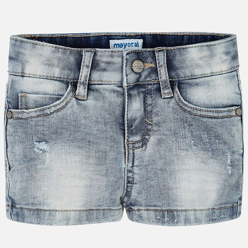 MAYORAL USA BASIC DENIM SHORTS
