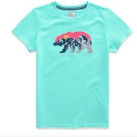 THE NORTH FACE GIRLS GRAPHIC TEE