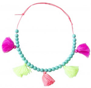 EVERBLOOM EVERBLOOM MULTI COLOR TASSEL NECKLACE