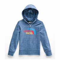 THE NORTH FACE TODDLER TRI-BLEND FULL ZIP HOODIE