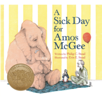 MPS A SICK DAY FOR AMOS MCGEE BOARD BOOK