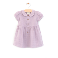 CITY MOUSE MUSLIN BUTTON DRESS