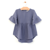 CITY MOUSE MUSLIN BELL SLEEVE DRESS