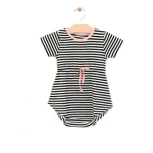 CITY MOUSE STRIPED DRESS