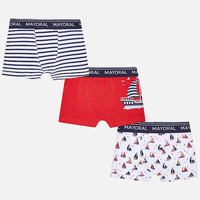 MAYORAL USA MAYORAL SET OF PATTERNED BOXER SHORTS