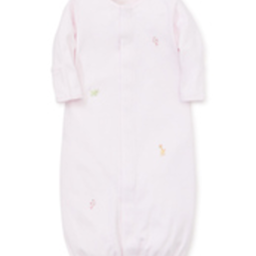 KISSY KISSY PREMIER CONVERTER GOWN SCE ANIMAL CRACKERS WITH HAND EMB. STR