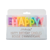 CREATIVE EDUCATION OF CANADA HAPPY BIRTHDAY CANDLES