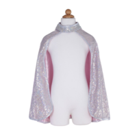 DOUGLAS CO. SILVER SEQUINS CAPE