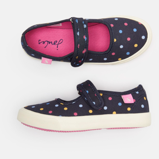 JOULES FUNDAY CANVAS STRAP CANVAS SNEAKERS