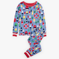 HATLEY DISTRESSED BUOYS ORGANIC COTTON PAJAMA SET