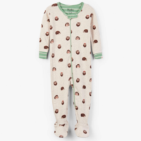 HATLEY HUGGABLE HEDGEHOGS ORGANIC COTTON FOOTED COVERALL