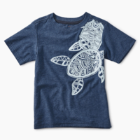 TEA SEA TURTLE GRAPHIC TEE