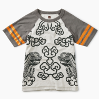 TEA LION RAGLAN TEE