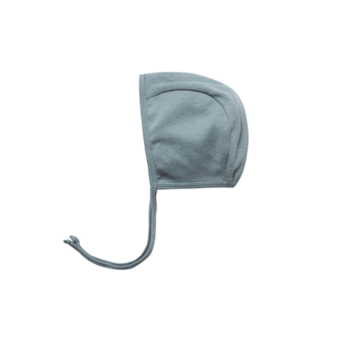 QUINCY MAE ORGANIC RIBBED BABY BONNET