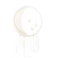 FIONA WALKER FIONA WALKER ENGLAND CRESCENT MOON AND STARS WALL HANGING