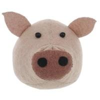 FIONA WALKER FIONA WALKER ENGLAND SMALL PIG HEAD WALL MOUNT