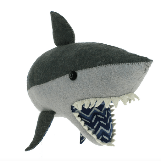 FIONA WALKER FIONA WALKER ENGLAND SHARK HEAD WALL MOUNT