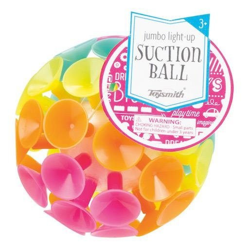 TOYSMITH JUMBO SUCTION BALL