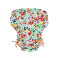 RUFFLEBUTTS, INC. ONE PIECE RASH GUARD