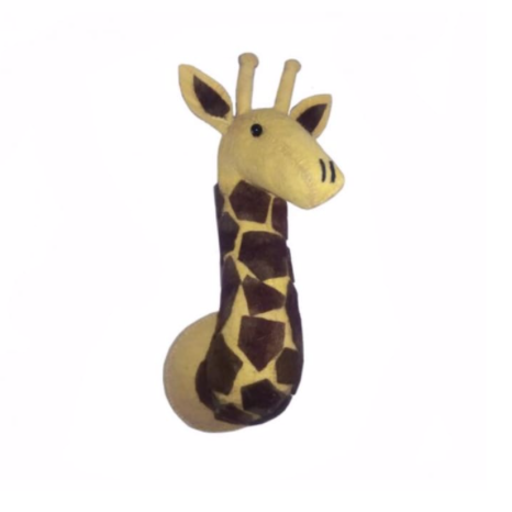 FIONA WALKER FIONA WALKER ENGLAND MINI GIRAFFE HEAD WALL HANGING