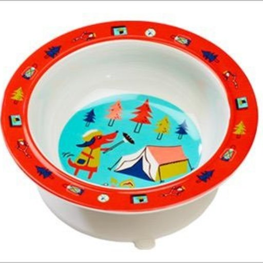 O.R.E HAPPY CAMPER SUCTION BOWL